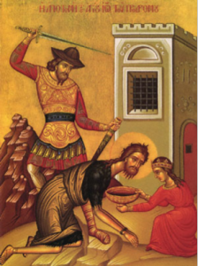 Beheading of St. John the Baptist
