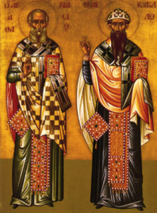 St. Athanasios St. Cyril