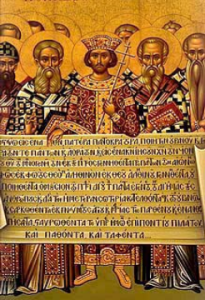 Father's of the First Ecumenical Council