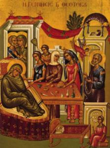 Nativity of the Holy Theotokos