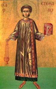Stephen_Archdeacon and First Martyr